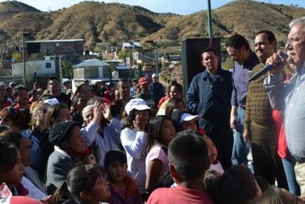 """Clausura Alcalde """"Posadas de la Felicidad"""" en centro comunitario Flores Magón"""