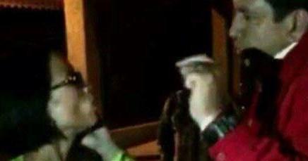 Se reclaman amenazas e intimidaciones Humberto Robles y Perla Zuzuki a altas horas de la noche