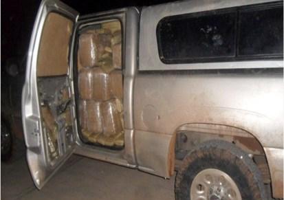 Incautan soldados armamento, droga y vehículos en Naco, Sonoyta y Santa Cruz