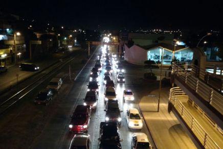 Advierte Jefe de Tránsito posibles congestionamientos viales ante regreso de paisanos por Nogales