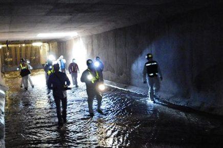 Alertan Senadores sobre posible colapso del embovedado del arroyo Los Nogales