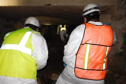 Enterados en el Gobierno Municipal sobre problemática del embovedado Los Nogales