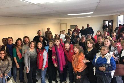 Rinde protesta Martha Antelo Corral como la nueva dirigente del ONMPRI Nogales