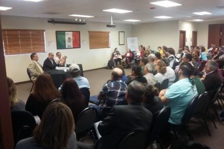 Apoyará Consulado de México con asesorías en temas migratorios a ciudadanos de ambos Nogales