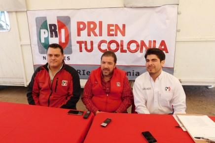 Festeja PRI su 88 aniversario con jornada de servicios de atención en colonia San Miguel
