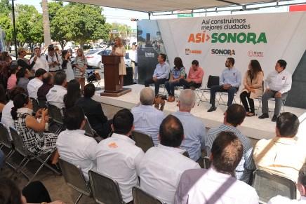 Anuncia Gobernadora Claudia Pavlovich más de mil millones en vialidades y obras para Hermosillo
