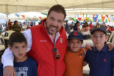 Celebra el PRI Nogales a miles de niños en su Día
