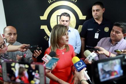Aportación voluntaria para bomberos debe quedarse en los municipios que se genera: Gutiérrez