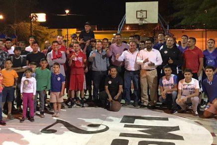 Con el apoyo del PRI Nogales arranca Torneo Interbarrial Lomas de Nogales Dos