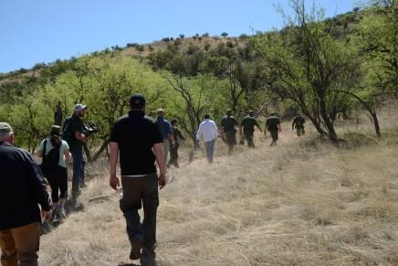 Advierte Patrulla Fronteriza sobre los peligros para los migrantes que quieran cruzar la frontera por Nogales