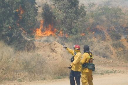 """Sigue """"El Cagón"""" provocando incendios que generan grave contaminación ambiental"""