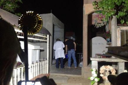 Sigue sin identificar el hombre asesinado y encontrado en el panteón Jardines del Buen Pastor de Nogales