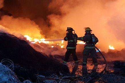 Pagaría recicladora por gastos generados para atender incendio a bomberos y municipio