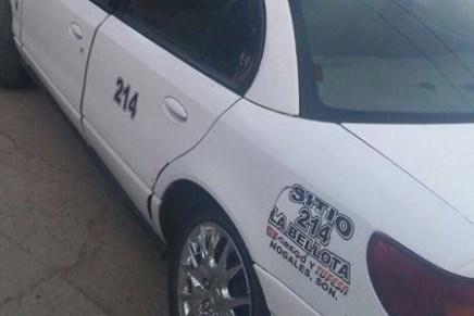 Otro taxista asaltado y golpeado por supuestos clientes, por la Héroes