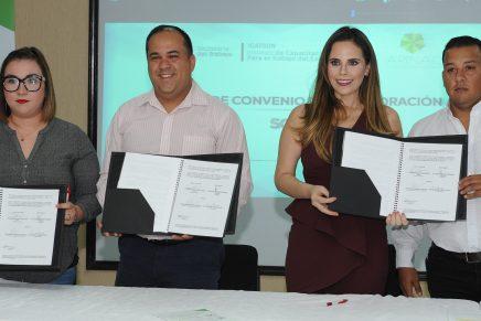 Firman Icatson y Arinac convenio en beneficio de industria maquiladora de Nogales