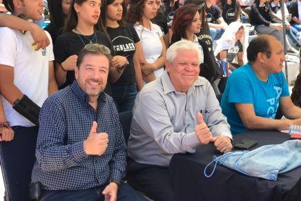 Festeja el PRI Nogales a los alumnos del Cetis 128 por el Día del Estudiante
