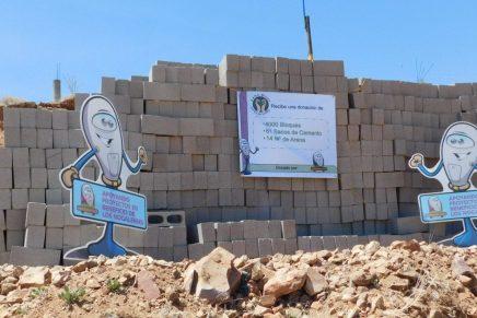 Destina Patronato Pro Parquímetros material de construcción para albergue infantil