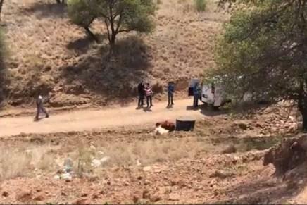Encuentran osamenta humana al final del parque industrial Nuevo Nogales
