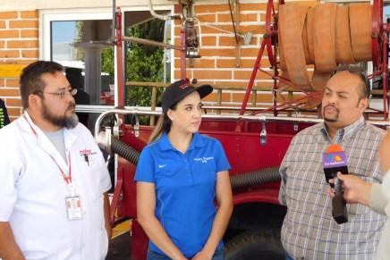 Apoya Molex a los bomberos con reforestación para subestación