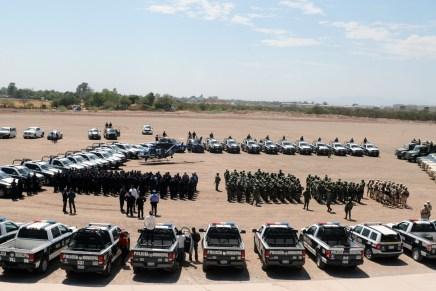 Despliegan fuerzas de seguridad operaciones conjuntas permanentes en Cajeme