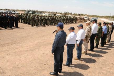 Llega Gendarmería a Cajeme: Gobernadora Pavlovich