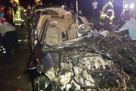 Sería conductor del Nissan Maxima responsable del choque mortal de frente, en las Curvas de Quijano