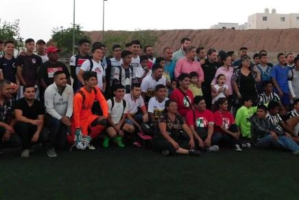 Arranca el PRI Nogales torneo interbarrial de fútbol rápido en Los Virreyes
