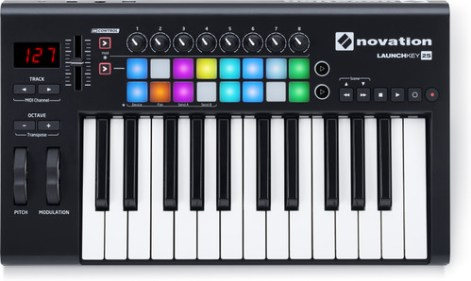 how to control the led lights themselves with LMMS (the drumpad or keypad and change color) - How do I get my MIDI keyboard to work in Lmms?
