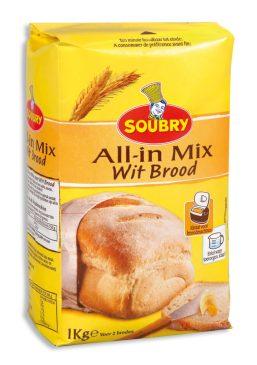 gezond afslanken brood zelf bakken bloem mix