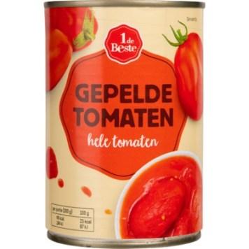 Gepelde tomaten - de eerste de beste zijn goed. ;-)