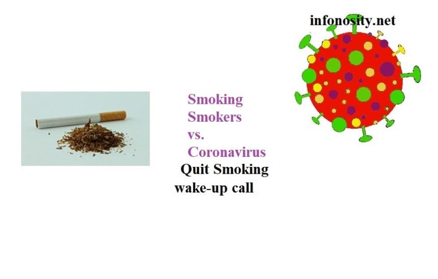 How to quit smoking?: smoking smokers coronavirus: Smoking versus Corona.  Another reason to quit smoking !!!