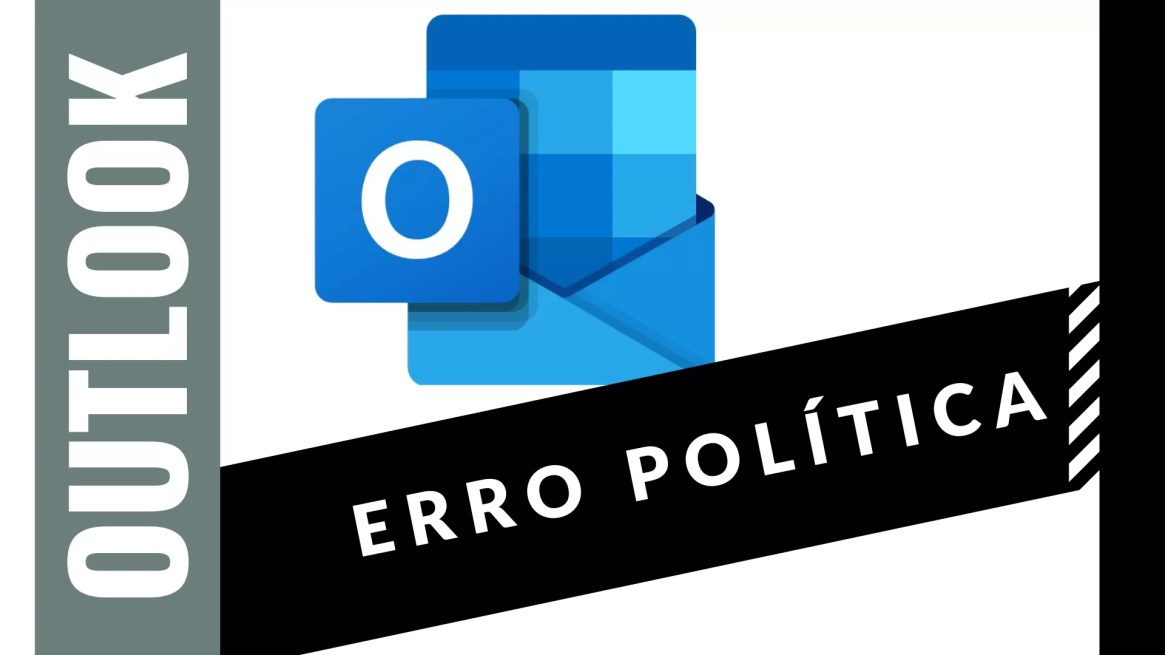 outlook erro política