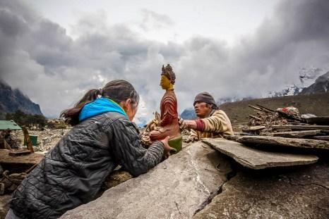 Фото дня: Непал: Комната для молитвы