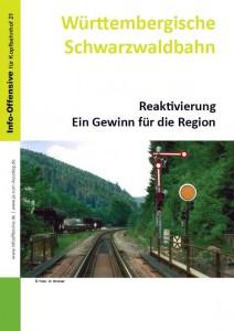 Württembergische Schwarzwaldbahn - Region abgeschnitten Reaktivierung sinnvoll