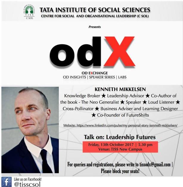 odX invite - TISS - Leadership futures