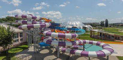 A 3-a extragere, pentru un voucher la Aquapark Nymphaea, are doi castigatori in campania platilor impozitului in online