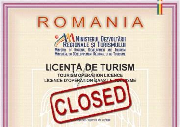 22 de Agentii de Turism, din Oradea si judetul Bihor, au ramas fara Licenta de Turism. Vezi lista!
