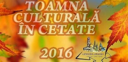 Incepe si Toamna Culturala in Cetate. Vezi programul zilei de azi, 7 octombrie 2016