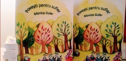 """Monica Guler lanseaza cartea """"Povești pentru suflet""""- zece povesti amuzante din lumea animalelor"""