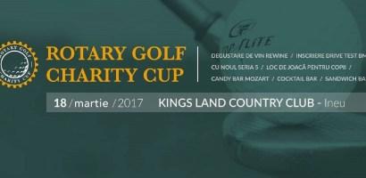 "Rotary Club Oradea 1113 organizeaza prima editie a competitiei internationale ""Rotary Golf Charity Cup"""