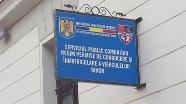 Programul Serviciului Permise si Inmatriculari, din Oradea, se modifica incepand cu 17.03.2017