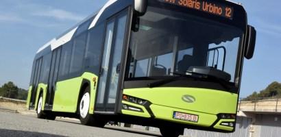 "Solaris Urbino 12, declarat ""Autobuzul Anului 2017 în Europa"", va circula o saptamana prin Oradea. FOTO"