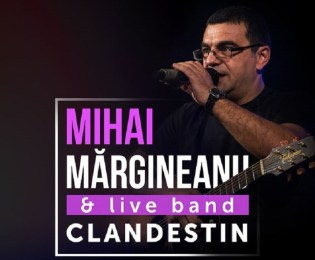 Mihai Margineanu in concert live, maine 15.03, la Grand Palace in Oradea