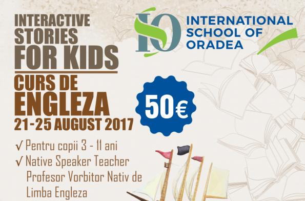Școala Internațională din Oradea organizează cursuri de limba engleză pentru copii