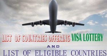 Full list of countries that gives Visa Lottery to Nigerians and others- Check it here