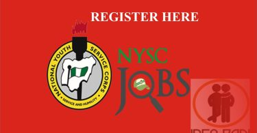 NYSC JOB PORTAL- REGISTER TO GET A JOB- NYSC CORPS MEMBERS- How to register- nyscjobs.org