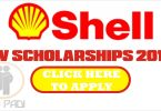 SHELL SPDC JV SCHOLARSHIP 2018/2019- Apply for Shell Scholarship 2018/2019 Proper Steps- click here
