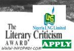 NLNG Literary criticsm awards