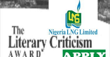 NLNG Literary criticsm awards