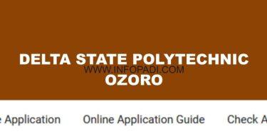 Delta State Poly Ozoro DSPZ